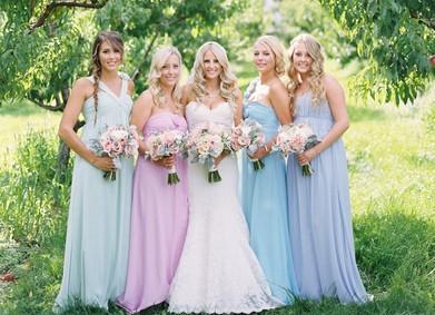 Цвет свадьбы – Серенити и Розовый кварц