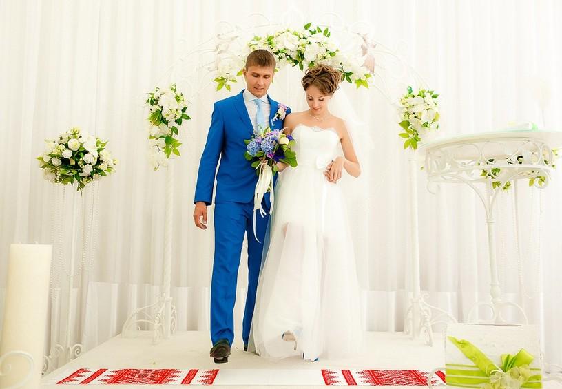 украинский рушник, рушник на свадьбу, рушник венчальный, вышитый рушник на свадьбу