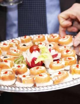 фуршет на свадьбу, закуски