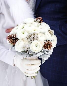 зимние цветы для букета