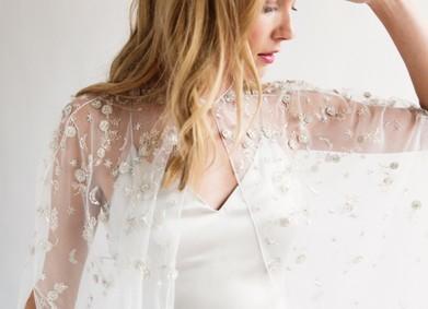 Свадебная накидка – чудо-аксессуар