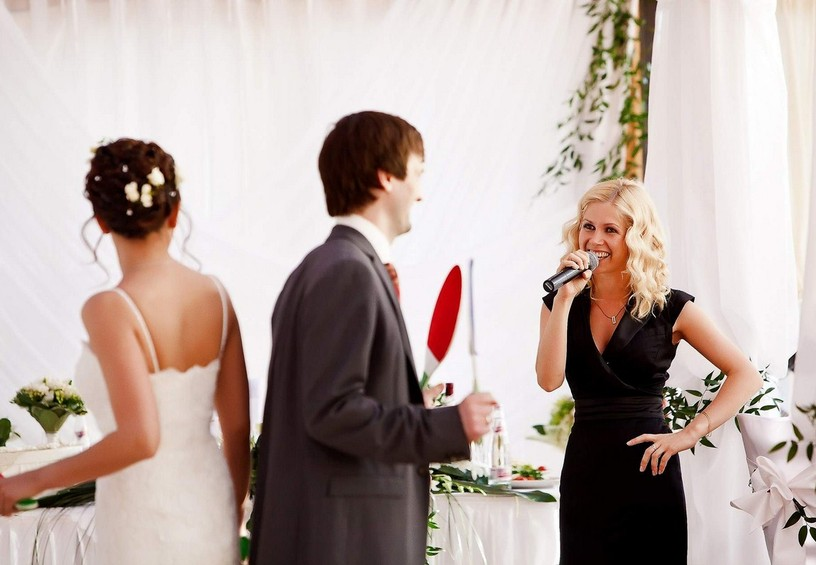 Лучшая ведущая на свадьбу