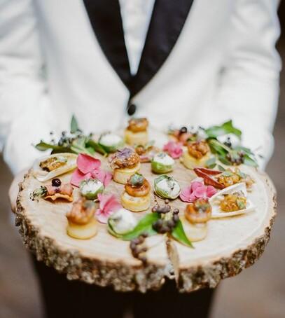свадьба закуски