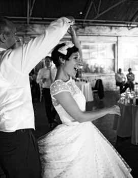 танец молодожёнов, ретро стиль