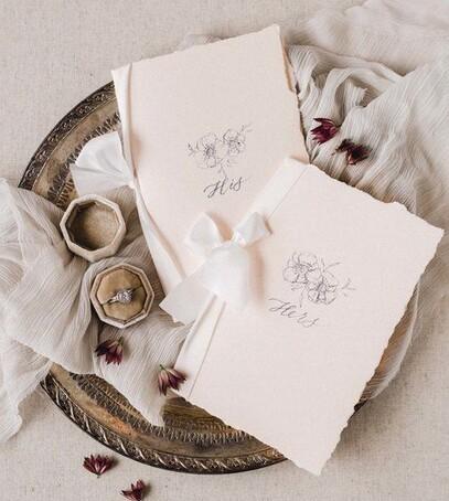 как написать свадебные клятав
