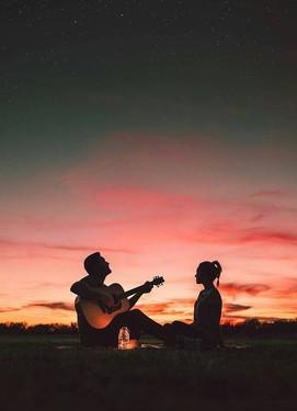 love-story, фотосессия влюблённой пары, фотосессия на закате