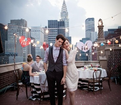 необычное место для свадебного банкета