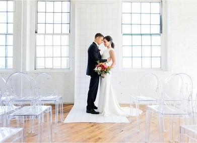Свадьба в стиле Минимализм: всё гениальное просто!