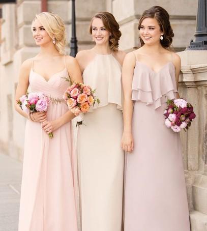 подружки невесты, свидетельницы на свадьбе