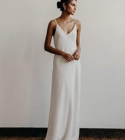 свадебное платье простое