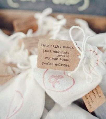 подарки гостям на свадьбу, комплименты для гостей, льняные мешочки с травами