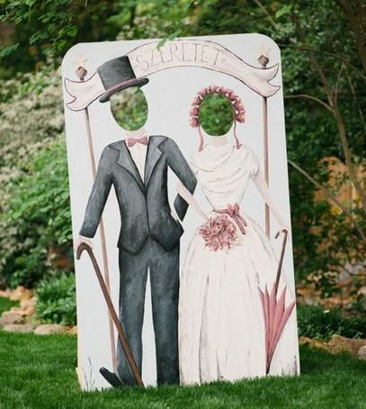 тантамареска, свадебный декор, оформление свадьбы, жених и невеста
