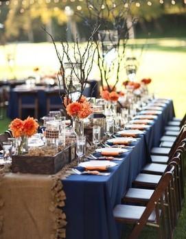 осенняя свадьба цвет