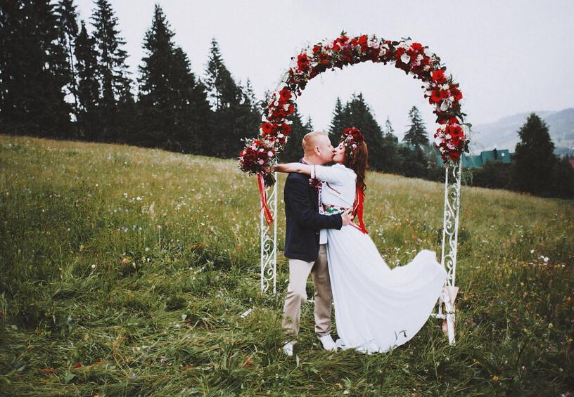 современная украинская свадьба