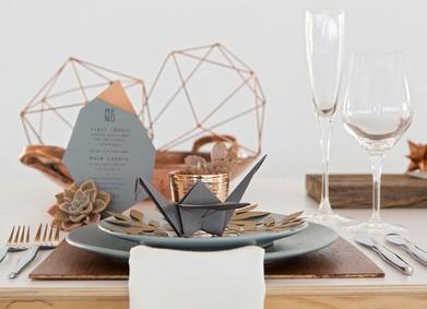 Актуальный свадебный декор: урок геометрии от YesYes