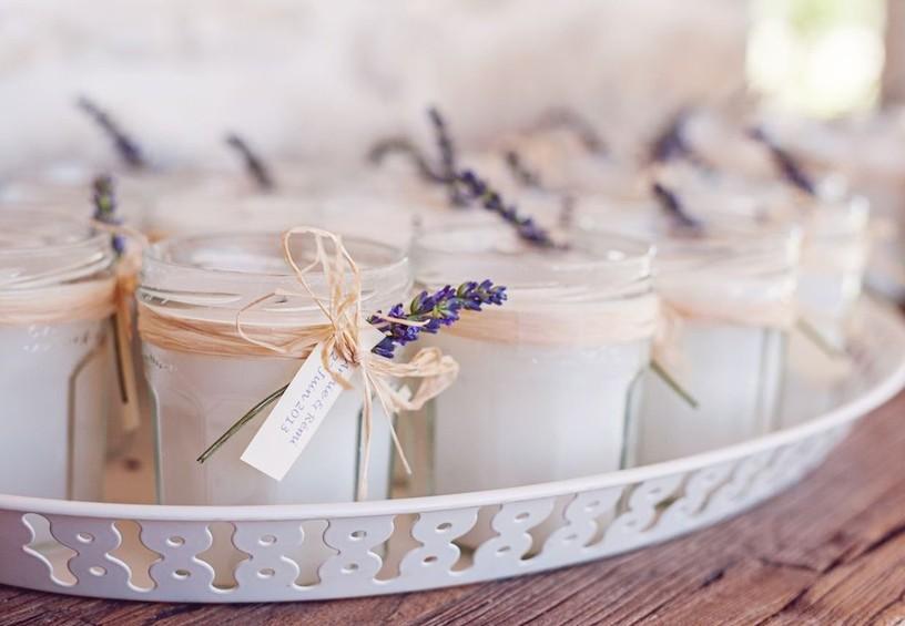 свечи, свечи в подарок, ароматизированные свечи для гостей, свадебные подарки гостям, комплименты гостям, белый цвет