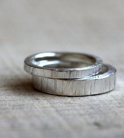 серебряные кольца, обручальные кольца из серебра