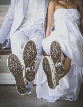 мужские кеды на свадьбу