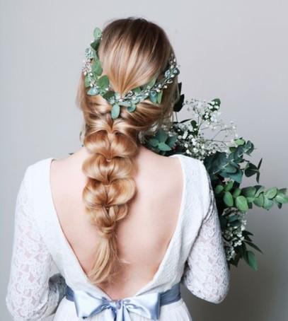 невеста косы