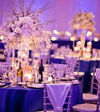 свадебный банкет, оформление ресторана на свадьбу,
