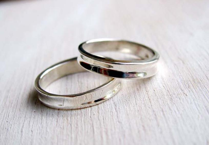 титановые обручальные кольца, кольца из титана