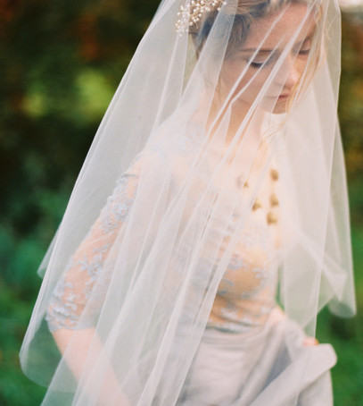 фата, невеста, фата средней длины, причёска с фатой, классический фасон фаты