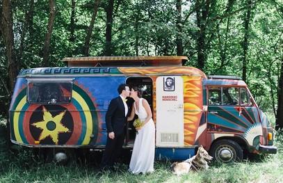 свадьба в лесу, свадьба на природе