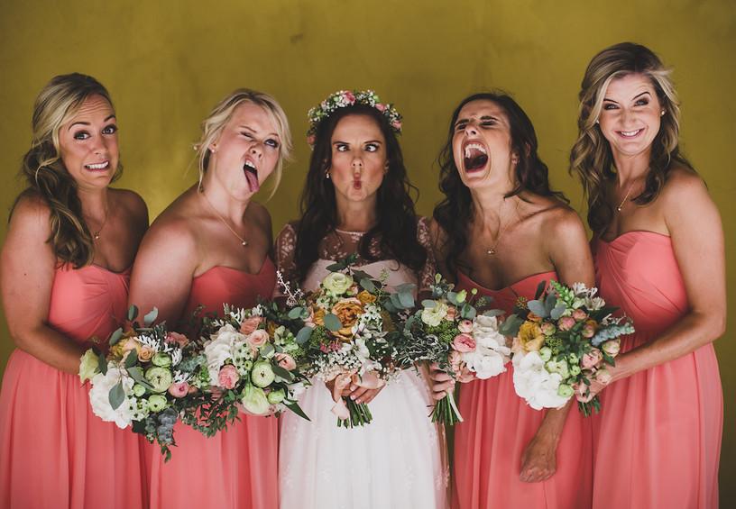свадьба, невеста и подружки, самые близкие подруги невесты на свадьбе, гости на свадьбе, список гостей на свадьбу