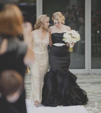 свадьба, невеста, чёрное свадебное платье, невеста в чёрном
