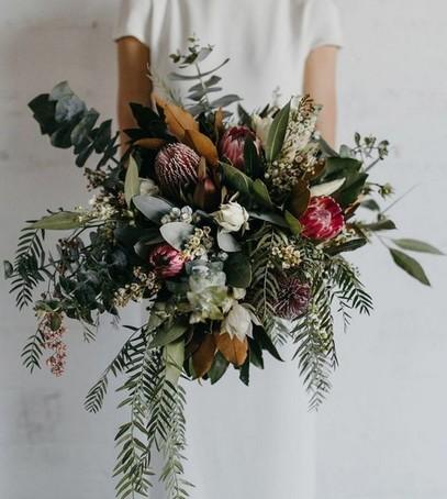 яркий свадебный букет, необычный букет на свадьбу
