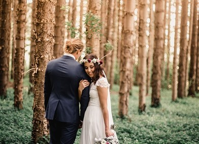 Свадьба в лесу: красота природы на вашей стороне