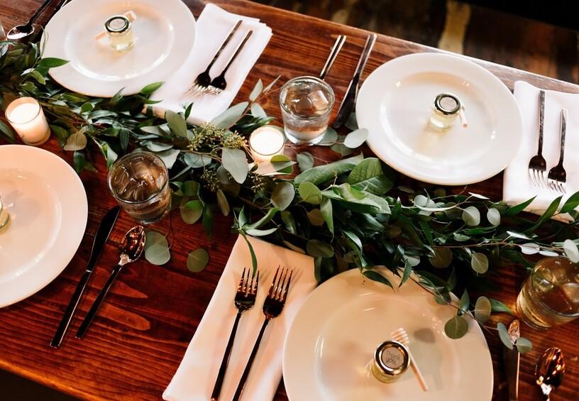 еда на свадьбе