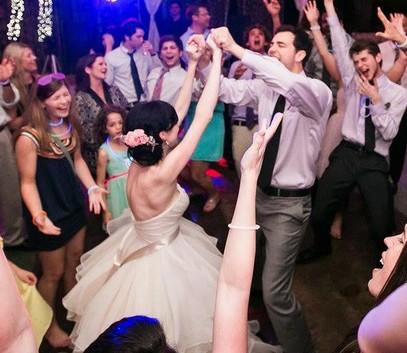 танцы жениха и жены