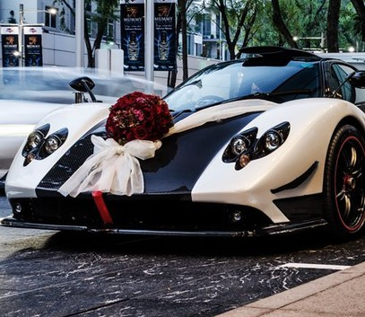 Зонда на свадьбу - свадебный суперкар