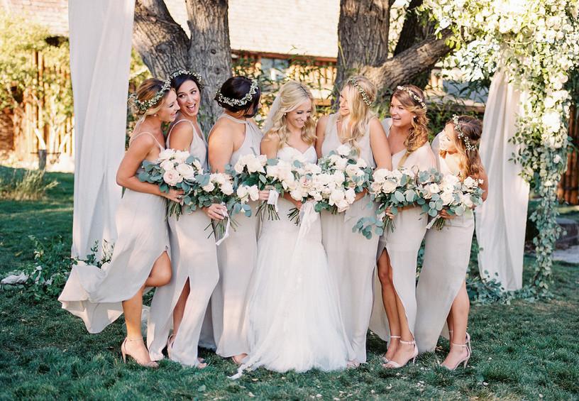рустик, бохо, свадьба, невеста, подружки невесты, букеты невесты и подружек, как одеть подружек невесты