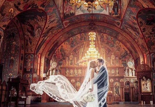 Свадебные фото в соборе
