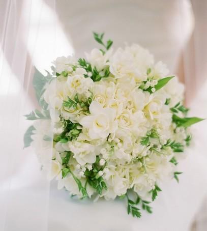 свадебный букет, букет невесты, белый букет, букет 2019 на свадьбу
