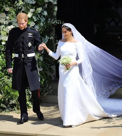 свадебный букет меган маркл