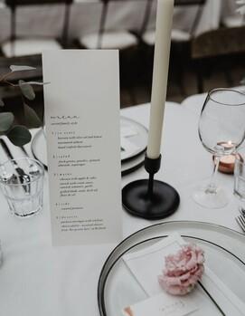 свадьба минимализм