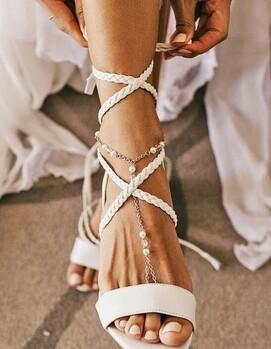 свадьба бохо обувь