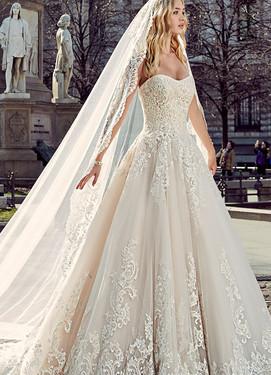 Пышное свадебное платье 2017