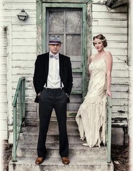 ретро стиль в свадебной фотосессии, свадьба в ретро стиле