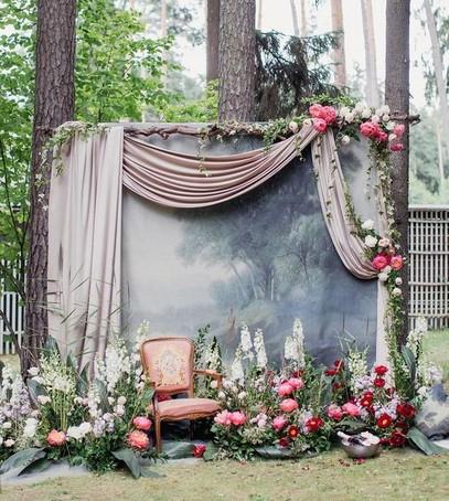 выездная церемония, выездная регистрация, выездная свадьба, фотозона на выездной свадьбе