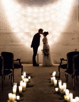 свадьба в лофте, свадьба в кругу друзей
