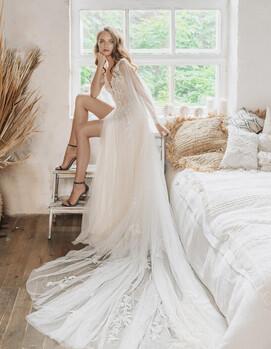 открытое свадебное платье украина