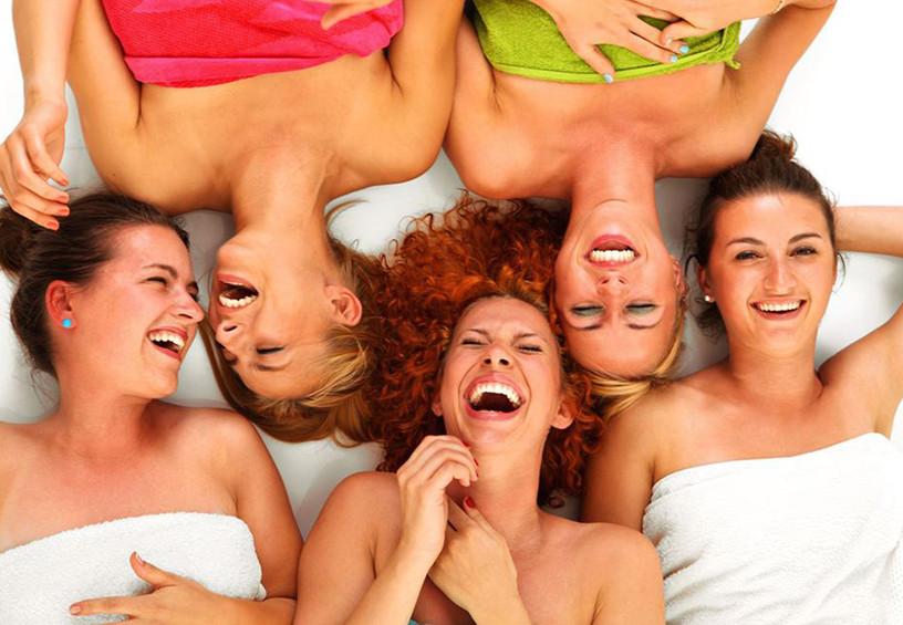 спа, подружки, девичник, релакс с подругами, отдых для девушек