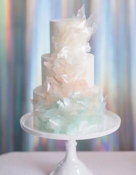 необычный торт на свадьбу