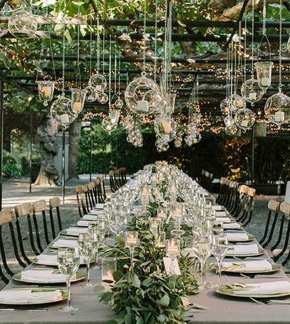 Идеи для освещения на свадьбе