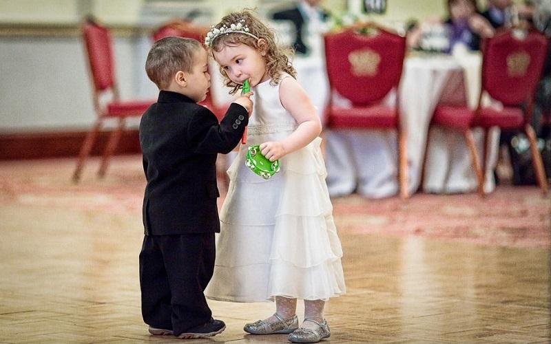 Картинки дети на свадьбе