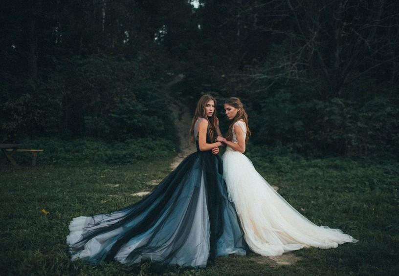 свадебные платья, необычные платья на свадьбу